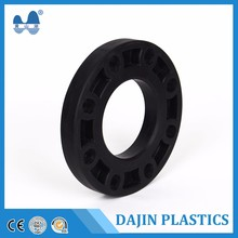China supely HDPE fabricated fittings plastic welded fitting with flange