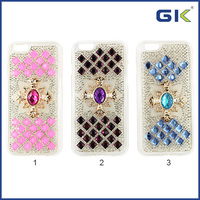 Fashion Bling TPU Cover For IPhone 6 Plus Diamond Bumper Case