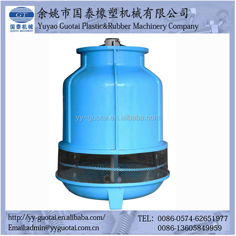 round type FRP Material water cooling tower for cooling water