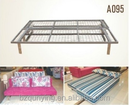 Metal sofa bed frame folding bed parts