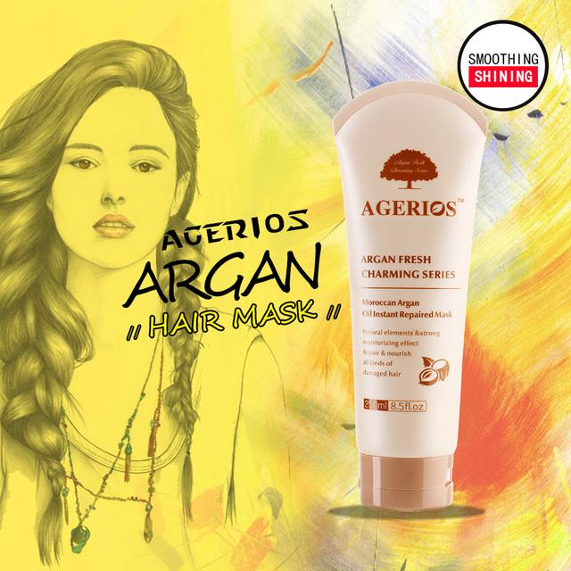 Natural cream argan oil hydrating hair mask intensive repair hair mask oem