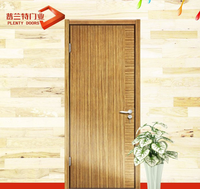 Simple yellow pine bedroom comfort puja room zen room door designs