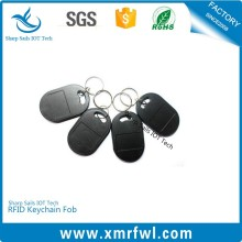 Logo printing RFID door lock key ring fob for safety