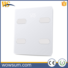 Easy Operation body-analyser scale body wifi fat analyzer scale with BMI measurement