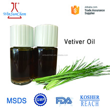 High Quality 100% Natural Essential Oil Vetiver Oil