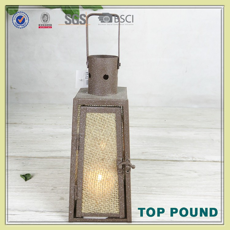 2015 High Quality Wholesale Fashion Decorative Glass Lantern