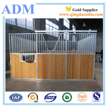 HDG Heavy duty portable panel horse stalls with wood