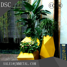 high density customized hotel stainless steel 304 large flower pots wholesale