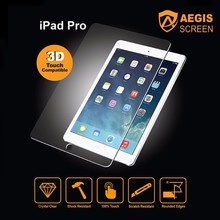2017 wholesale best anti-scratch screen protector tempered glass for Apple iPad 2/3/4