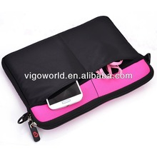 Tablet sleeve with removable strap neoprene sleeve case for Samsung Galaxy Tab Pro 8.4