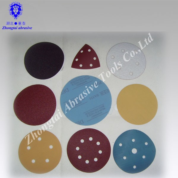 abrasive disc type factory supply good quality sanding disc