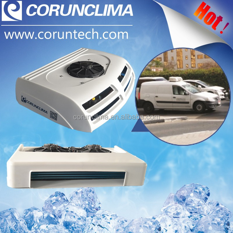 12 volt roof mounted cooling refrigeration unit for cargo van