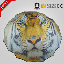 Customized Auto open Newly Designed All Fiberglass Constructed Straight Seamless Umbrella