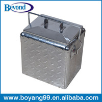 Diamond outdoor ice cooler box
