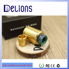 2016 Delions new arrival 2 post kennedy 24 gold rda 1:1 clone/ kennedy 22 rda/ kennedy tool in stock
