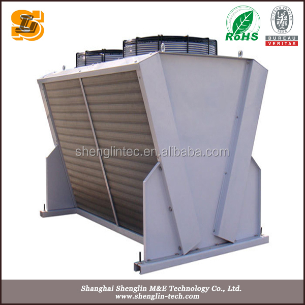 District heating roof mounted Remote Radiator dry cooler