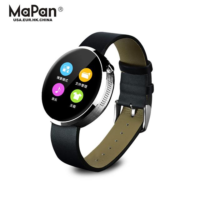 new coming cheap 1.22 inch smart watch with B:T4.0 speaker, FM radio wrist hidden camera