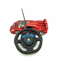 High speed racing steering wheel radio remote control cars toys