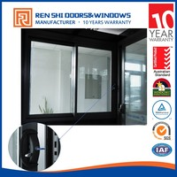 sliding window commercial glass window and office sliding glass window comply with as2047 standard