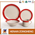 16pcs ceramic stoneware dinnerware set arabic