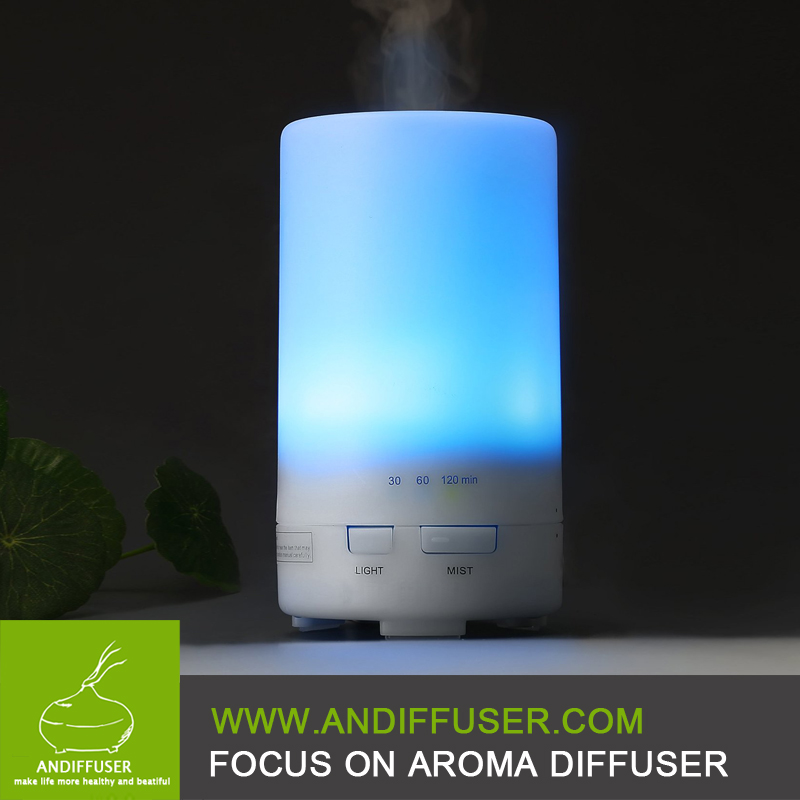 50 ml Portable Ultrasonic car USB Mini Aroma Diffuser Air Humidifier Purifier LED Lonizer Aromatherapy Essential Oil Diffuser