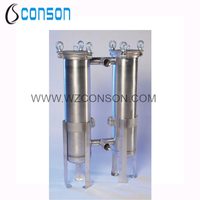 304 and 316 Stainless Steel duplex filter housing