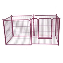 Popular Heavy Duty Customized Color Dog Kennels Outdoor Dog Fence Designs Wire Mesh Dog runs