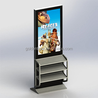 40 inch lcd poster display network video floor stand display digital photo frame wifi lcd ir touch screen monitor