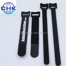 Integration adhesive felt tape quick release hook and loop cable tie
