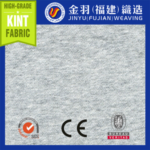 2015 100% Cotton one side bursh Fleece knitted fabric/fabric for graments