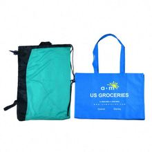 New recycle promotion nylon foldable shopping bags