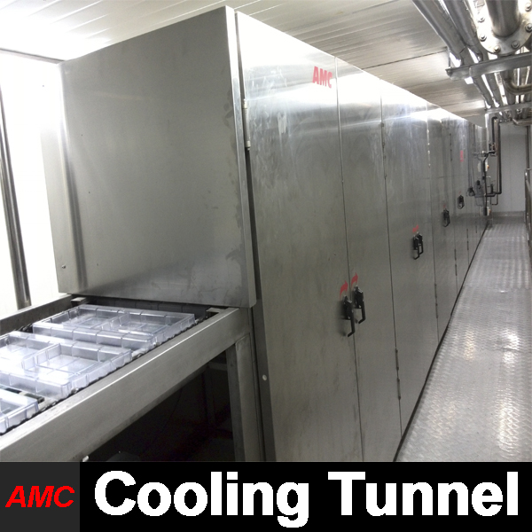 Easy Operation Cost Savings face bone Cooling Tunnel Machine