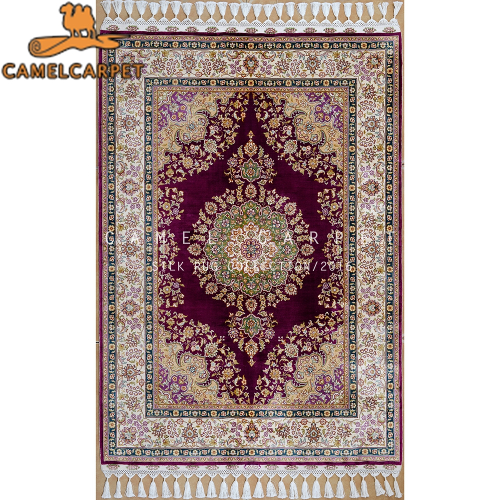 carpets and rugs traditional handmade oriental 100% man made silk rugs