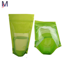 250 ml ziplock bag zipper bag liquid stand up pouch waterproof plastic bag