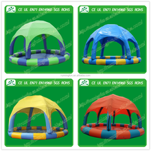 giant inflatable pool, inflatable water pool with tent