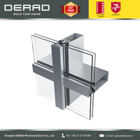 ALUK Aluminium Glass Curtain Wall System