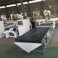 auto loading and unloading automatic furniture making machine