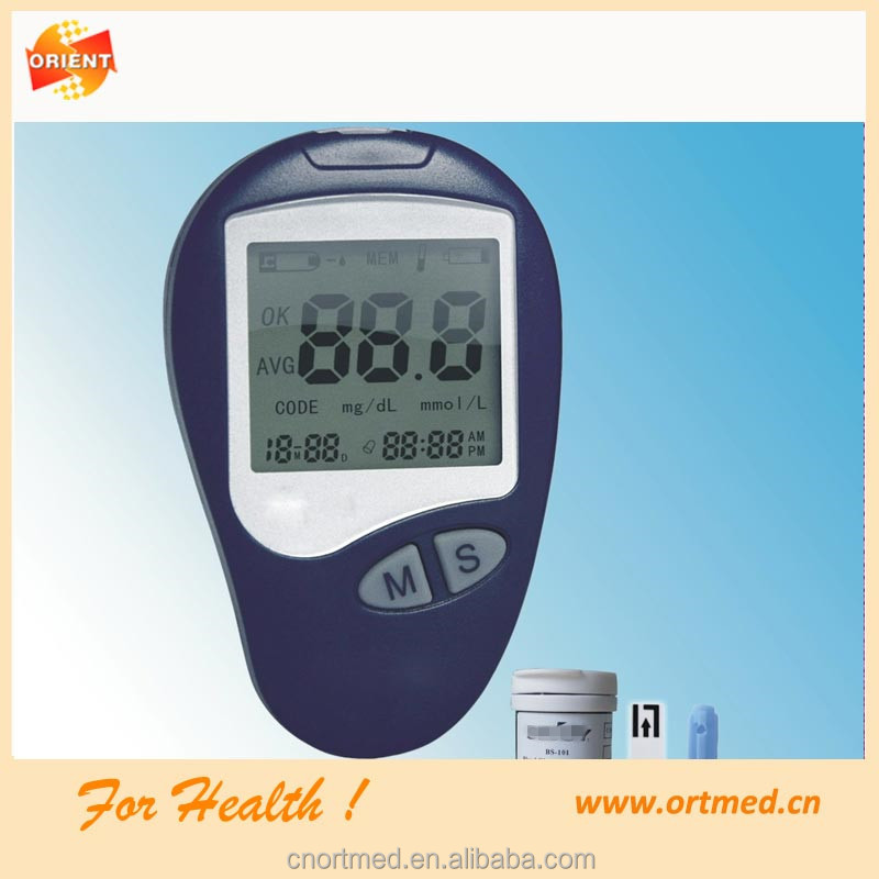 Blood Glucose strips Monitor System test;blood glucose meter