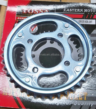 GN125 motorcycle rear sprocket