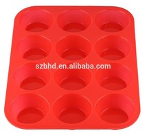High-end new design silicone rose cake mold,silicone baking pan,muffin pan