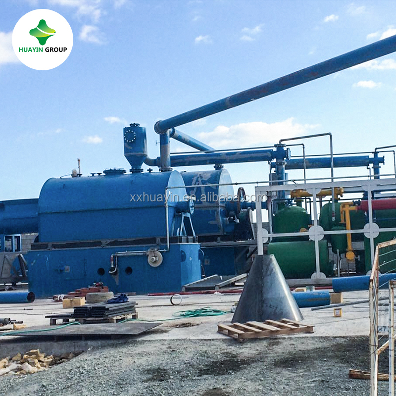 Leading technology Waste oil to diesel fuel distillation equipment