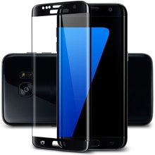 Hot Products! Ultra Thin 3D Full cover 9H Hardness Tempered Glass screen protector for Samsung galaxy s7 Edge pelicula de vidro