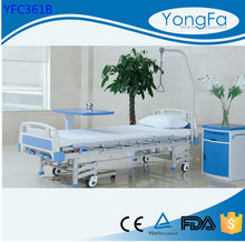 Automatic powder coating Cheap Price !!! Simple hospital bed table with drawer