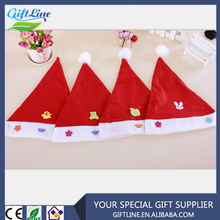 GIFTLINE Cheap Price Cute Children Xmax Hat,Small Christmas Hat LOW MOQ