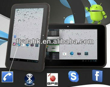 "7"" capacitive screen MTK6575 Android4.0 tablet pc MTK752"