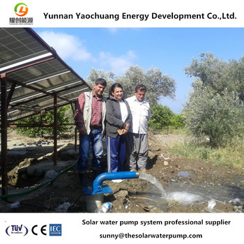 220V & 380V AC electric water pump by solar energy system Max. flow 500m3/h