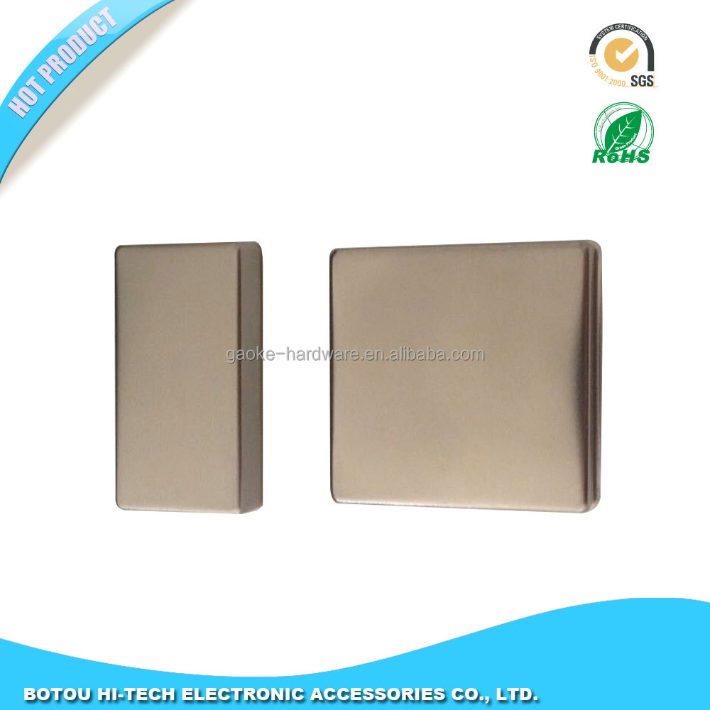 Sheet metal stamping kovar lid for electronic components
