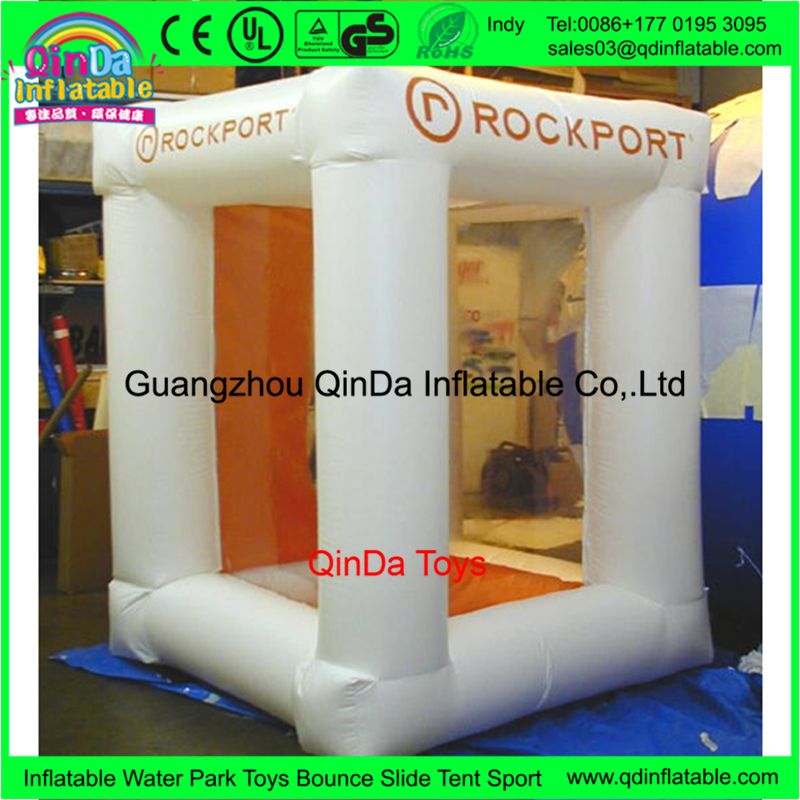 Advertising products inflatable cash cube ,inflatable money booth machine for sale
