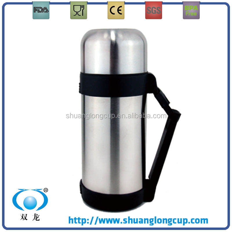 1.5 litre 2L large capacity stainless steel thermos with press button