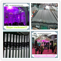 RK Singapore drapery hardware portable pipe & drape wedding pipe and drape backdrop decoration Made in China RK